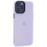 Чехол-накладка пластиковый TOTU Gingle Series для iPhone 12 Pro Max 2020 (6.7) с силиконовыми бортами Прозрачный