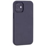 Чехол-накладка кожаный TOTU Emperor Series Leather Case для iPhone 12 mini 2020 г. (5.4) Черный