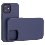 Чехол-накладка кожаный TOTU Emperor Series Leather Case для iPhone 12 mini 2020 г. (5.4) Темно-синий