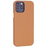 Чехол-накладка кожаный TOTU Emperor Series Leather Case для iPhone 12/ 12 Pro 2020 (6.1) Коричневый