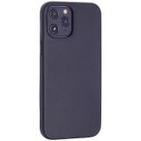 Чехол-накладка кожаный TOTU Emperor Series Leather Case для iPhone 12 Pro Max 2020 (6.7) Черный