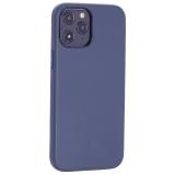 Чехол-накладка кожаный TOTU Emperor Series Leather Case для iPhone 12 Pro Max 2020 (6.7) Темно-синий