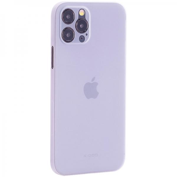 Чехол-накладка пластиковая K-Doo Air Skin 0.3мм для Iphone 12 Pro (6.1) Белая