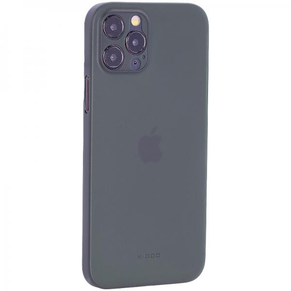 Чехол-накладка пластиковая K-Doo Air Skin 0.3мм для Iphone 12 Pro (6.1) Зеленая