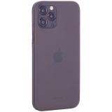 Чехол-накладка пластиковая K-Doo Air Skin 0.3мм для Iphone 12 Pro (6.1) Серая