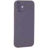 Чехол-накладка пластиковая K-Doo Air Skin 0.3мм для Iphone 12 (6.1) Серая