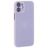 Чехол-накладка пластиковая K-Doo Air Skin 0.3мм для Iphone 12 mini (5.4) Белая