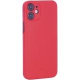 Чехол-накладка пластиковая K-Doo Air Skin 0.3мм для Iphone 12 mini (5.4) Красная