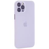 Чехол-накладка пластиковая K-Doo Air Skin 0.3мм для Iphone 12 Pro Max (6.7) Белая