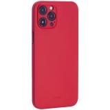 Чехол-накладка пластиковая K-Doo Air Skin 0.3мм для Iphone 12 Pro Max (6.7) Красная