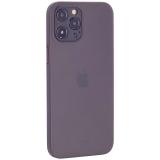 Чехол-накладка пластиковая K-Doo Air Skin 0.3мм для Iphone 12 Pro Max (6.7) Серая