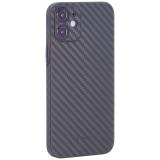 Чехол-накладка карбоновая K-Doo Air Carbon 0.45мм для Iphone 12 mini (5.4) Зеленая