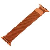 Ремешок из нержавеющей стали MAGNET Band для Apple Watch 42 мм Оранжевый