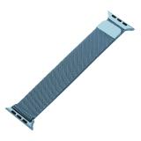Ремешок из нержавеющей стали MAGNET Band для Apple Watch 42 мм Темно-голубой