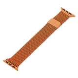 Ремешок из нержавеющей стали MAGNET Band для Apple Watch 38 мм Оранжевый