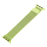 Ремешок из нержавеющей стали MAGNET Band для Apple Watch 38 мм Салатовый