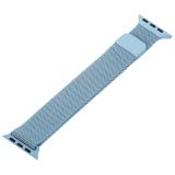 Ремешок из нержавеющей стали MAGNET Band для Apple Watch 38 мм Голубой