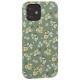 Чехол-накладка KINGXBAR для iPhone 12 / 12 Pro (6.1) пластик со стразами Swarovski (Цветочная серия №3)