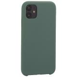 Накладка силиконовая MItrifON для iPhone 11 (6.1) без логотипа Pine Green Бриллиантово-зеленый № 58