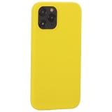 Накладка силиконовая MItrifON для iPhone 12 Pro Max (6.7) без логотипа Yellow Желтый №55
