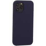 Накладка силиконовая MItrifON для iPhone 12 Pro Max (6.7) без логотипа Midnight Blue Темно-синий №8