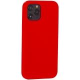 Накладка силиконовая MItrifON для iPhone 12 Pro Max (6.7) без логотипа Product red Красный №14