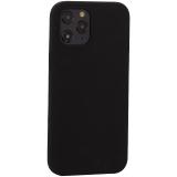 Накладка силиконовая MItrifON для iPhone 12 Pro Max (6.7) без логотипа Black Черный №18