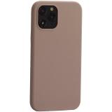 Накладка силиконовая MItrifON для iPhone 12 Pro Max (6.7) без логотипа Pink sand Розовый песок №19