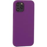 Накладка силиконовая MItrifON для iPhone 12 Pro Max (6.7) без логотипа Violet Фиолетовый №45