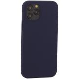Накладка силиконовая MItrifON для iPhone 12 / 12 Pro (6.1) без логотипа Midnight Blue Темно-синий №8