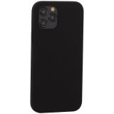 Накладка силиконовая MItrifON для iPhone 12 / 12 Pro (6.1) без логотипа Black Черный №18