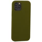 Накладка силиконовая MItrifON для iPhone 12 / 12 Pro (6.1) без логотипа Marsh Болотный №48