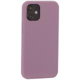 Накладка силиконовая MItrifON для iPhone 12 mini (5.4) без логотипа Dark Lilac Темно-сиреневый №61