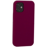 Накладка силиконовая MItrifON для iPhone 12 mini (5.4) без логотипа Maroon Бордовый №52