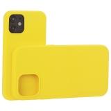 Накладка силиконовая MItrifON для iPhone 12 mini (5.4) без логотипа Yellow Желтый №55