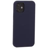 Накладка силиконовая MItrifON для iPhone 12 mini (5.4) без логотипа Midnight Blue Темно-синий №8