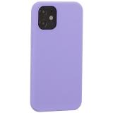 Накладка силиконовая MItrifON для iPhone 12 mini (5.4) без логотипа Lilac Сиреневый №41