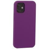 Накладка силиконовая MItrifON для iPhone 12 mini (5.4) без логотипа Violet Фиолетовый №45