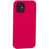 Накладка силиконовая MItrifON для iPhone 12 mini (5.4) без логотипа Bright pink Ярко-розовый №47