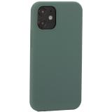 Накладка силиконовая MItrifON для iPhone 12 mini (5.4) без логотипа Pine Green Бриллиантово-зеленый № 58