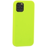 Накладка силиконовая MItrifON для iPhone 12 / 12 Pro (6.1) без логотипа Green Салатовый №31