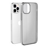 Чехол силиконовый Hoco Light Series для iPhone 12/ 12 Pro (6.1) Дымчатый