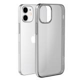 Чехол силиконовый Hoco Light Series для iPhone 12 mini (5.4) Дымчатый