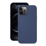 Чехол-накладка силикон Deppa Liquid Silicone Case D-87715 для iPhone 12 / 12 Pro (6.1) 1.7мм Синий