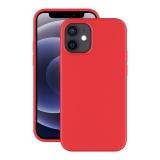 Чехол-накладка силикон Deppa Soft Silicone Case D-87774 для iPhone 12 mini (5.4) Красный