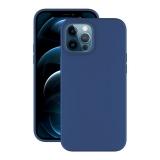 Чехол-накладка силикон Deppa Soft Silicone Case D-87771 для iPhone 12 Pro Max (6.7) Синий
