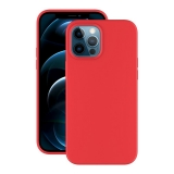 Чехол-накладка силикон Deppa Soft Silicone Case D-87770 для iPhone 12 Pro Max (6.7) Красный