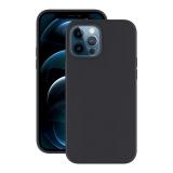 Чехол-накладка силикон Deppa Soft Silicone Case D-87769 для iPhone 12 Pro Max (6.7) Черный