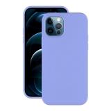 Чехол-накладка силикон Deppa Soft Silicone Case D-87768 для iPhone 12/ 12 Pro (6.1) Лавандовый