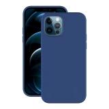 Чехол-накладка силикон Deppa Soft Silicone Case D-87767 для iPhone 12/ 12 Pro (6.1) Синий